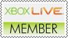 Xbox LIVE member stamp by MissOrange94