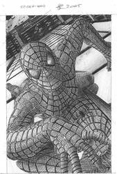 Spider-man by Ultimate-Saiyan