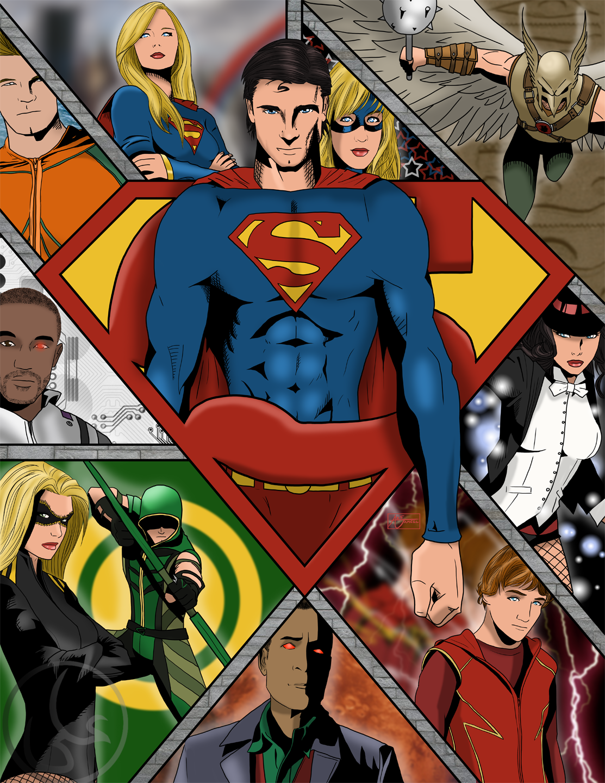 Smallville's Justice League