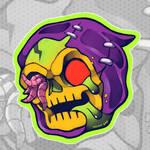 Villain madballs: Skeletor by sinner-moon