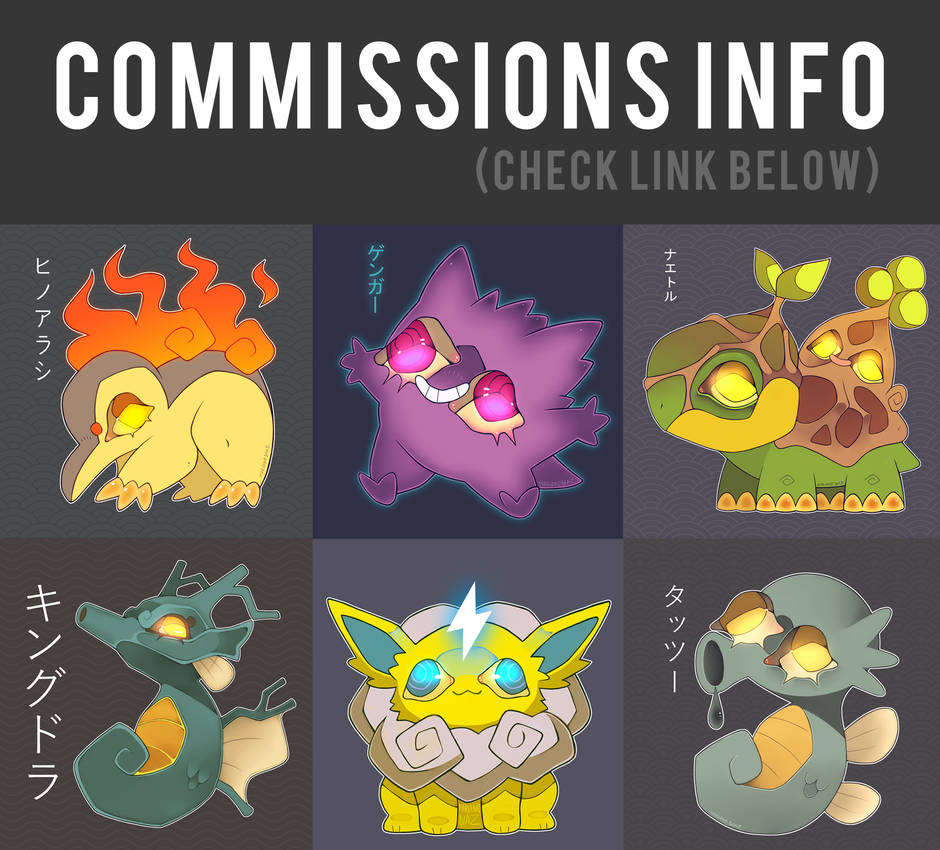 Commissions info 2020 (OPEN)