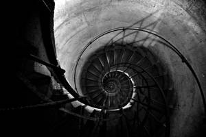 Stairs of the Arc de Triomphe by Gorlex