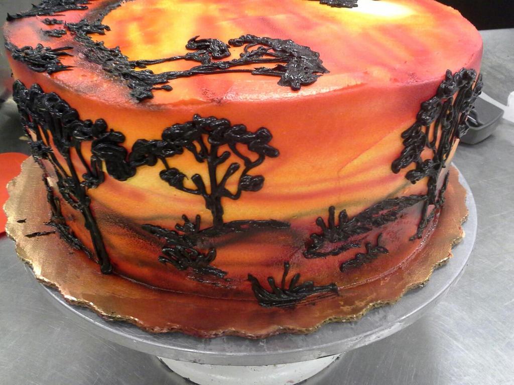 Around Lion king cake by GuppyCake on DeviantArt