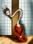 Rokurokubi by JinxHwoarang