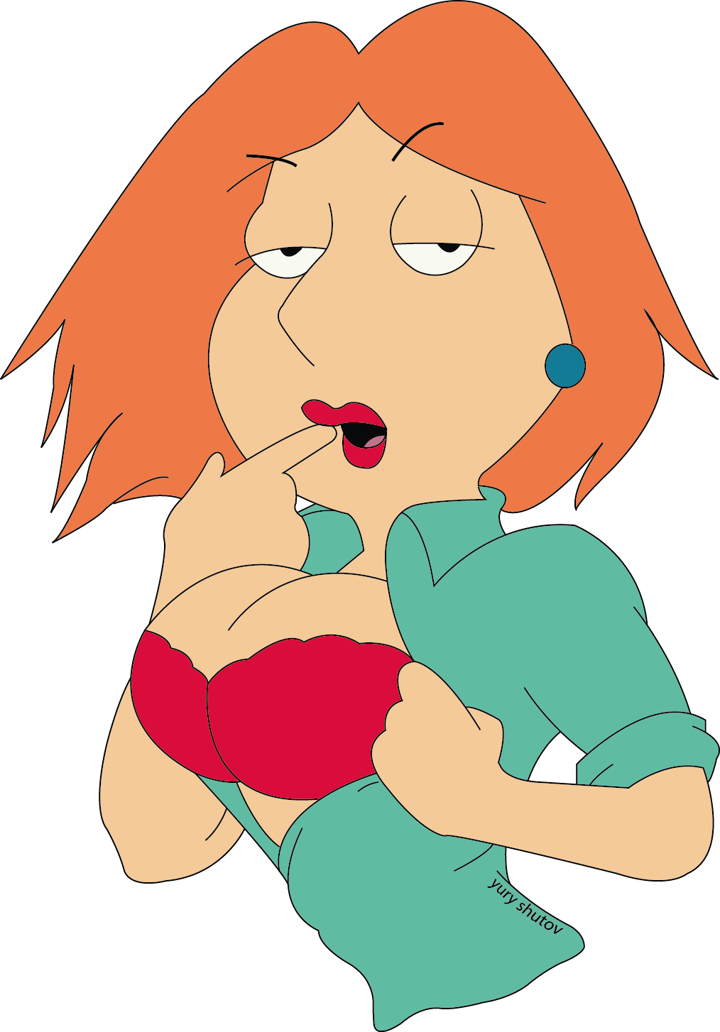 GOT cartoon bikini meg griffen