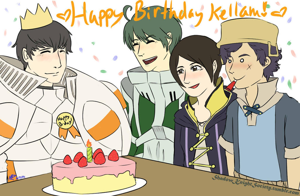 A Birthday with Friends by ShadowKnightSociety