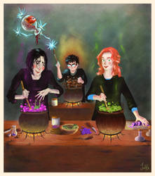 Potions class by frecklednose124