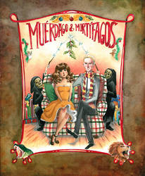 Muerdago and Mortifagos front page by frecklednose124