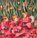 Fairies and poppies