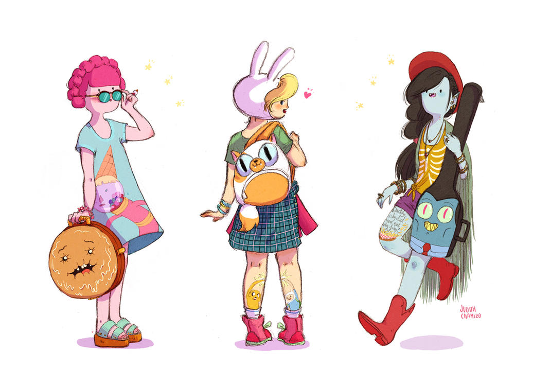 Personal Backpacks by frecklednose124