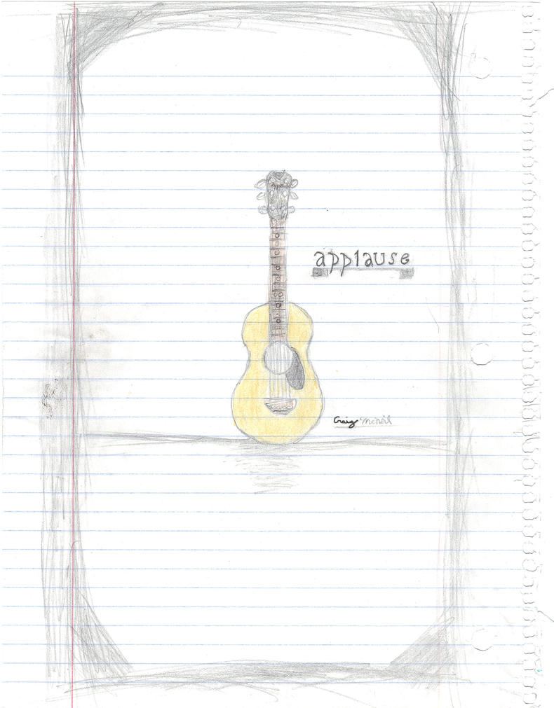 Applause Accoustic Guitar by samuswolf407