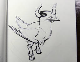Inktober2016 day 26: Yak-tern! by Clean3d