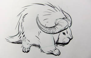 Inktober2016 day 30: Water porcullo by Clean3d