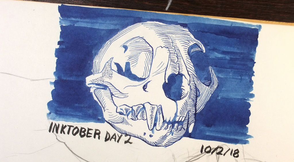 Inktober 2018 day 2 by Clean3d