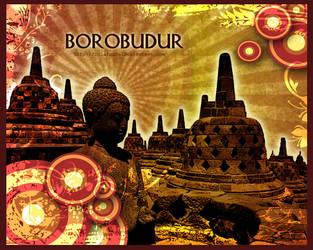 Borobudur by lolaranca