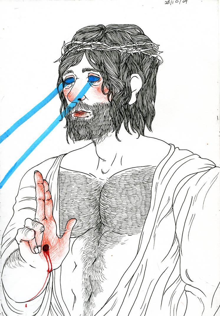 jesus 'laser' christ