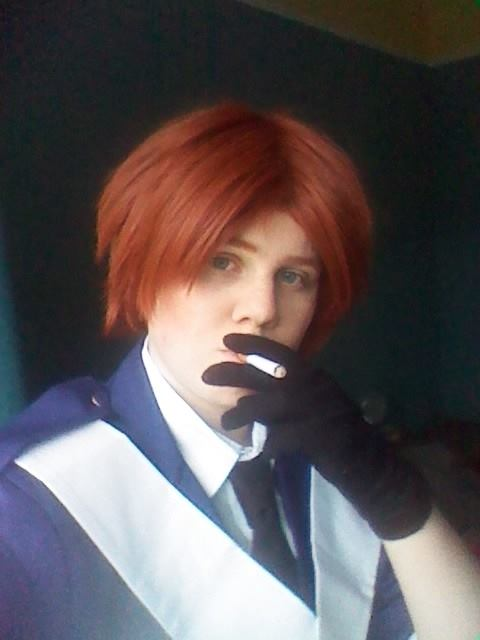 Hetalia - Haveing a smoke by Silent--Laughter