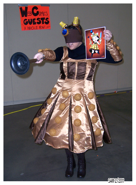 Journal K Z.  Real Dalek Girl by Kya-Kyabetsu