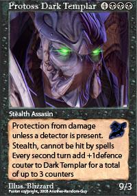 Dark Templar Magic Card by Another-Random-Guy