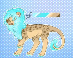 Beach Lion //FLATPRICE// CLOSED by SempaiSapphire