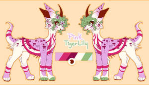 Pink TigerLily Moon Jumper Auction + OPEN +