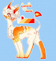 Candle Flame Moon Jumper Adopt - OPEN -