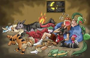Trainer in PLATINUM, Sleeping time