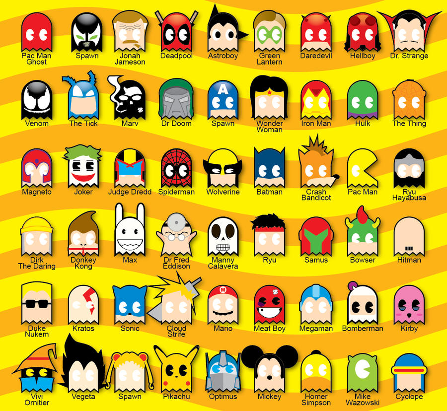 PacMan Ghost Costume Party by Paranoicfever