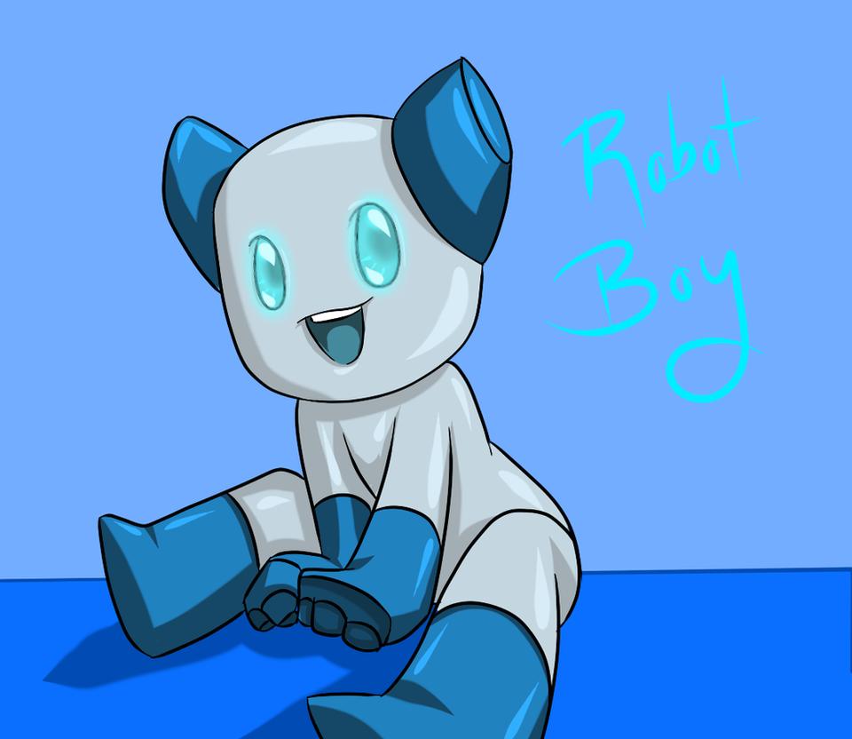 Anime Robot: Robot Boy Anime-ish Style By BlueVortex525 On DeviantArt