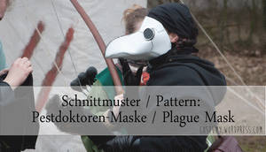 Pattern for Leather Plague Mask