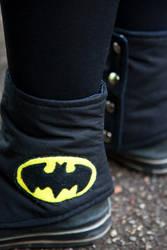 NerdWear: Batman Spats Detail