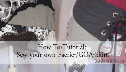 Tutorial: How to sew your own Faerie Skirt
