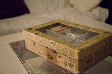 Recycled Lexicon Tea-Box II