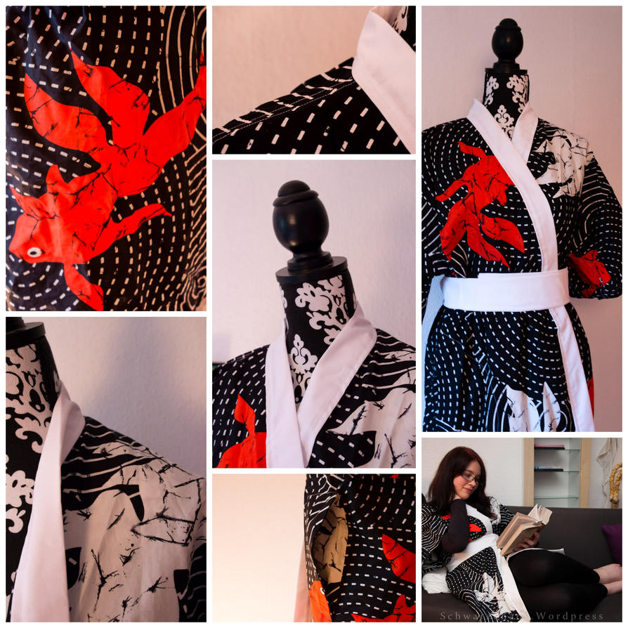 My (fishy) Kimono. by Costumy