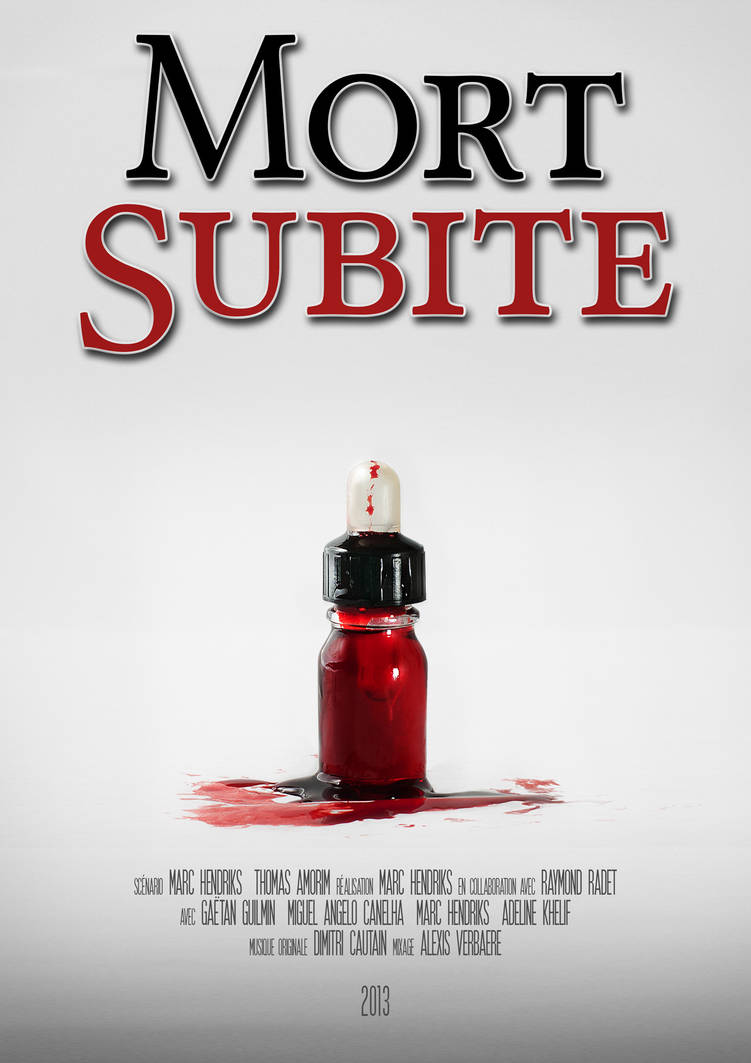 Affiche A4 - Mort-Subite by ExtremRaym