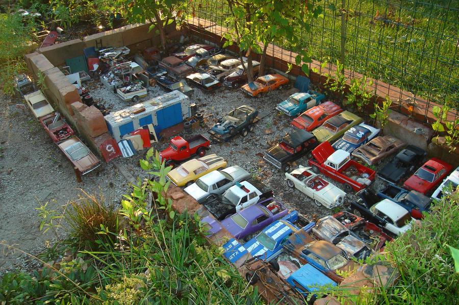 Junk Yard Pic By 1972corvette On Deviantart