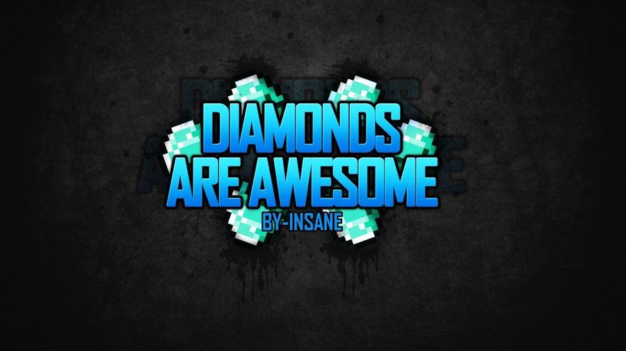 Diamond-wallpaper-minecraft-6iyw61ki by MCStudiosOFFICAL
