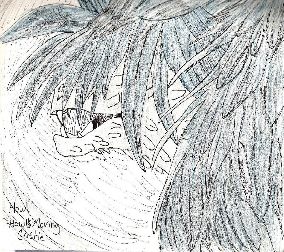 Howl el mago sin corazon Howl_Monster_by_YokaKitsune