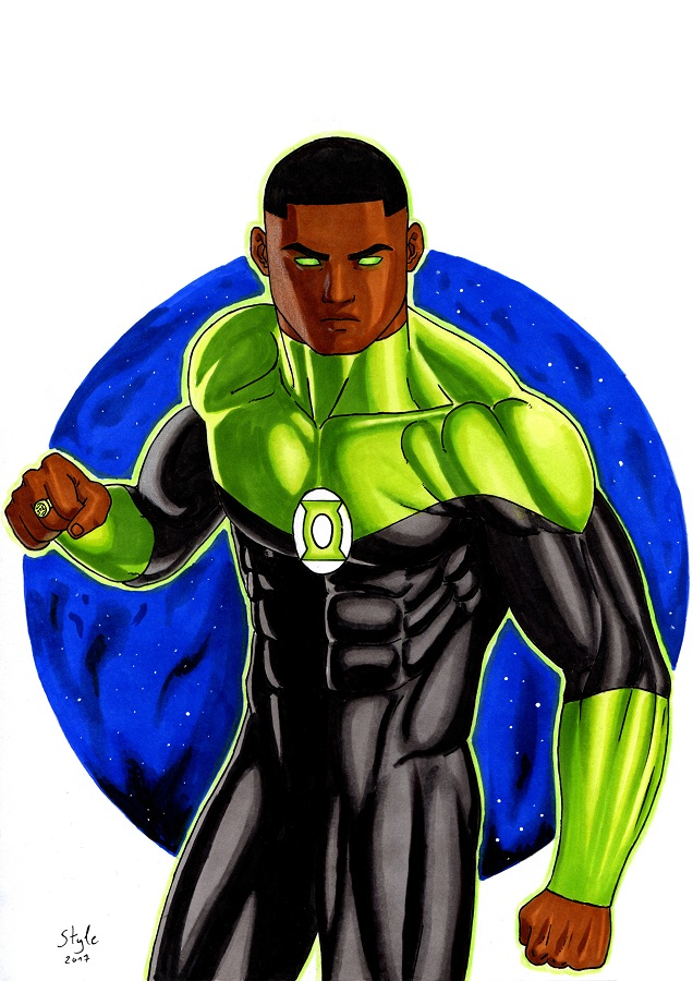 John Stewart by The-Masterstyle
