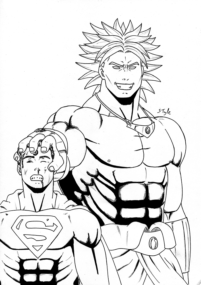 Broly, his power is maximum by The-Masterstyle