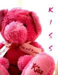 Kissing teddy-bear