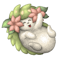 Pixelart Shaymin by LoreenaCole