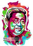 Susilo Bambang Yudhoyono SBY by Vennygara