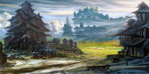Fantasy Lanscape