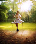 The Girl In The Swing