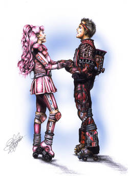 Starlight Express Pearl and Rusty