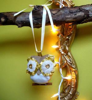 Christmas owl 3