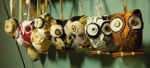 An army of owls