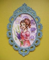 Insipred by Jane Austen watercolor1