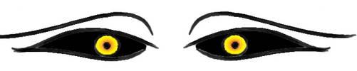 Hichigo's eyes digi art by YueShirosaki